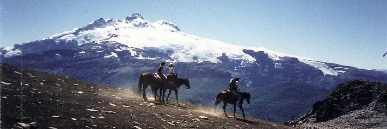 Cavalgada no Cerro Tronador