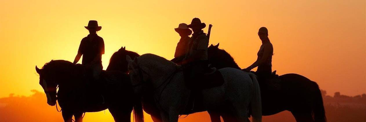 Safari a cavalo em Botsuana