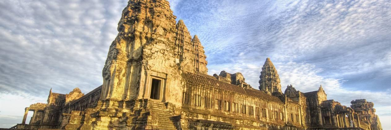 Camboja e os Templos de Angkor