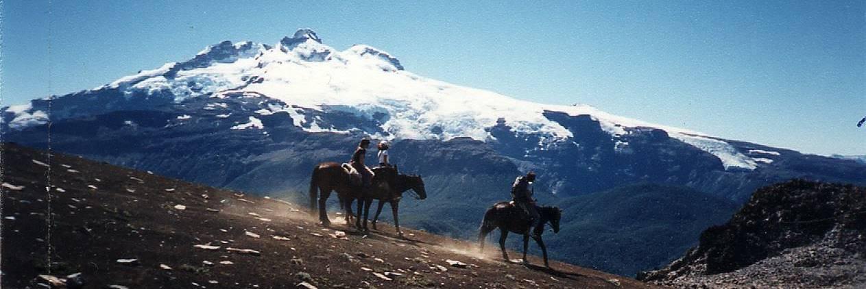 Cavalgada na Patagônia